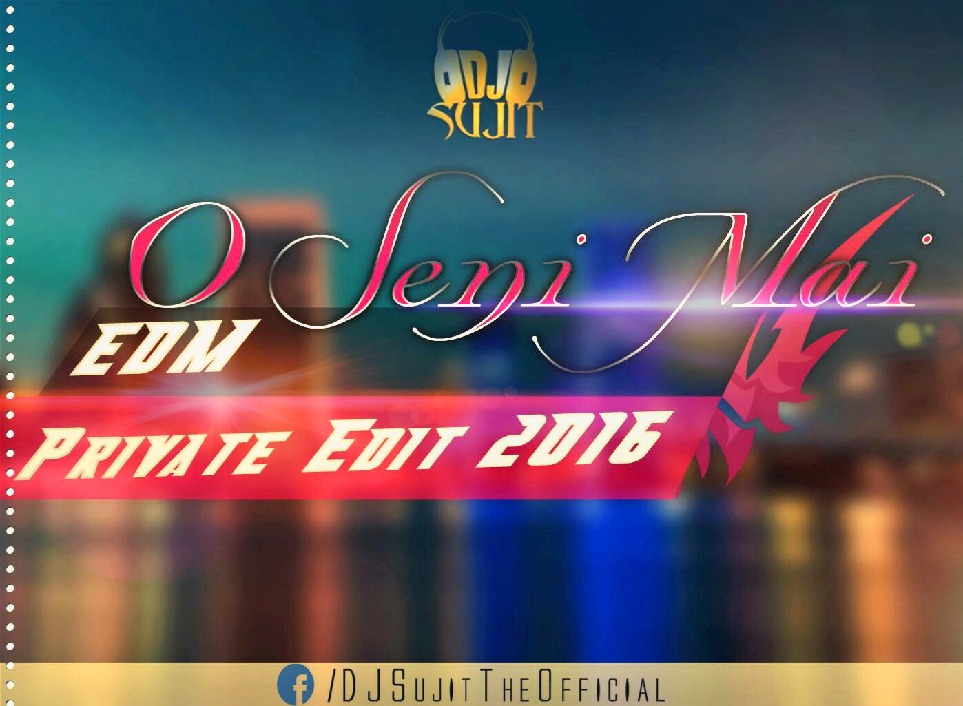 O Seni Mai – Babu (EDM – Private Edit 2016) – DJ Sujit Mix – DJ